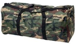 """BNF LUDUFIC 39"""" Invisible Pattern Camo Duffle Bag"""