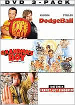 Dodgeball/Grandma's Boy/Freddy Got Fingered
