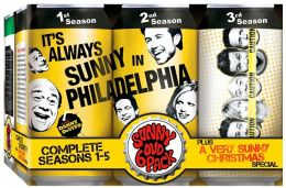 It's Always Sunny in Philadelphia: Complete Season 1-5 Plus a Very Sunny Christmas