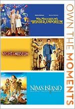 Mr. Magorium's Wonder Emporium/Night at the Museum/Nim's Island