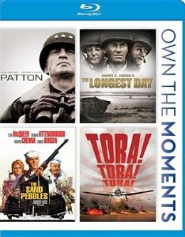 Patton/the Longest Day/the Sand Pebbles/Tora! Tora! Tora!