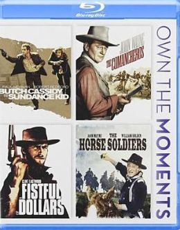 Butch Cassidy and the Sundance Kid/the Comancheros/a Fistful of Dollars/the Horse Soldiers