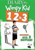 Video/DVD. Title: Diary Of A Wimpy Kid 1/2/3