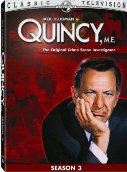 Quincy, M.E. - Season 3