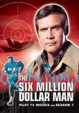 Video/DVD. Title: Six Million Dollar Man: Pilot Tv Movies and Season 1