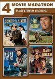 Video/DVD. Title: 4 Movie Marathon: James Stewart Western Collection