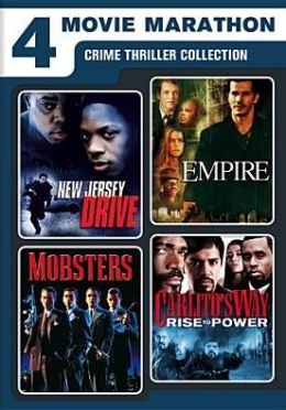 4 Movie Marathon: Crime Thriller Collection