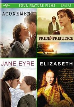 Atonement/Pride & Prejudice/Jane Eyre/Elizabeth