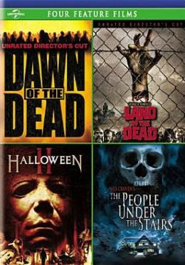 Dawn of the Dead/George a. Romero's Land of the Dead/Halloween Ii/the People under the Stairs