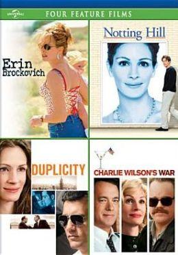 Erin Brockovich/Notting Hill/Duplicity/Charlie Wilson's War
