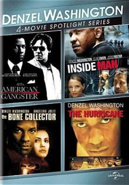 Denzel Washington 4-Movie Spotlight