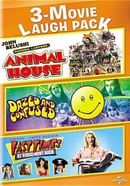 3-Movie Laugh Pack: National Lampoon's Animal House/Dazed and Confused/Fast Times at Ridgemont H