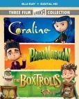 Video/DVD. Title: Boxtrolls/Paranorman/Coraline Triple Feature