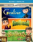 Video/DVD. Title: Boxtrolls/Paranorman/Coraline Triple Feature