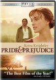 Video/DVD. Title: Pride & Prejudice
