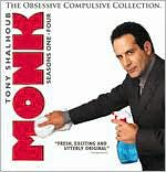 Monk - The Obsessive Compulsive Collection - Seasons 1-4