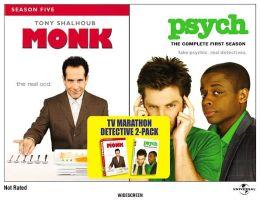 Monk - Season 5 & Psych - Season 1