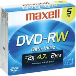 Dvd-Rw 5pk Rewritable Dvdr