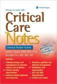 Book Cover Image. Title: Critical Care Notes:  Clinical Pocket Guide, Author: Jones