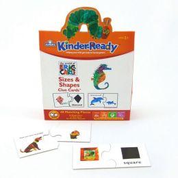 Kinder-Ready Shape & Size Clue Cards
