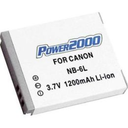 Power2000 ACD-291 Rechargeable Battery for Canon NB 6L