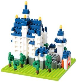 nanoblock Micro-Sized Building Block Set, Neuschwanstein Castle