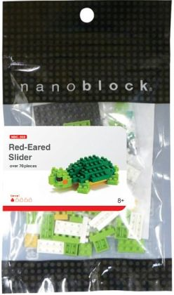nanoblock Micro-Sized Building Block Set, Red Eared Slider