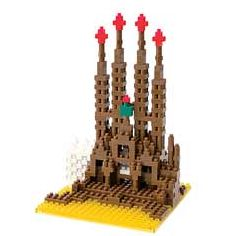 nanoblock Micro-Sized Building Block Set, Sagrada Familia