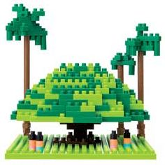nanoblock Micro-Sized Building Block Set, Giant Banyan Tree