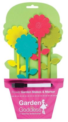 Garden Goddess Garden Stakes and Marker Set of 5