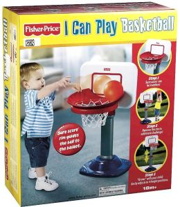 Fisher Price I Can Play Sports Junior Basketball
