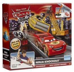 Cars Toon NINJA KNOCKOUT Track Set