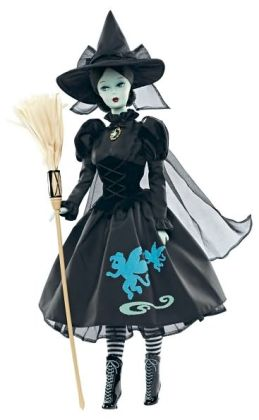 THE WIZARD OF OZ Wicked Witch of the West BARBIE Doll