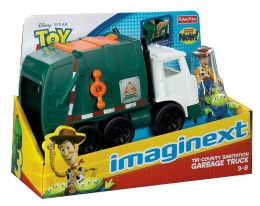 Fisher Price Toy Story Garbage Truck