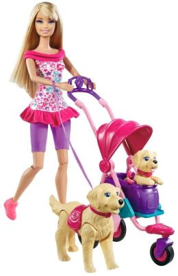 BARBIE STROLLIN' PUPS
