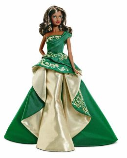 BARBIE Collector Holiday Barbie 2011 - African American Doll