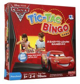 Disney Pixar Cars 2 Tic Tac Bingo Game