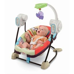 Fisher-Price Luv U Zoo Space Saver Swing