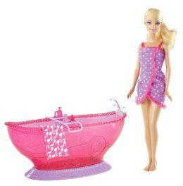 BARBIE Doll and Glam Tub
