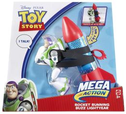 Toy Story MEGA ACTION Rocket Running Buzz LIghtyear Figure