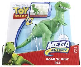 Toy Story MEGA ACTION ROAR 'N' RUN Rex Figure