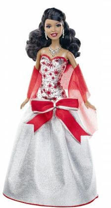 BARBIE Holiday Sparkle Barbie - African American Doll