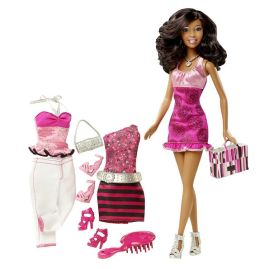 Barbie Doll and Fashions African American Doll