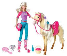 BARBIE DOLL/HORSE