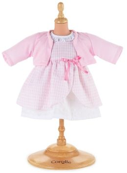Corolle Pink Dress Set fits 12 inch Doll
