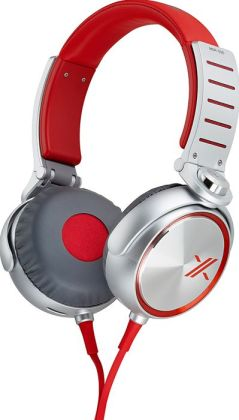 Sony MDR-X05 Headphone - Red/Silver