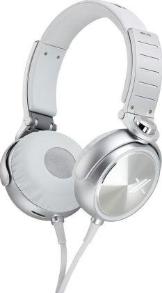 Sony MDR-X05 Headphone - White/Silver