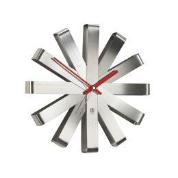 Ribbon Steel Clock