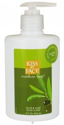 Kiss My Face 55041 Olive & Aloe Moist Soap