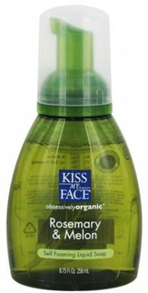 Kiss My Face 55729 Rosemary & Melon Foam Soap